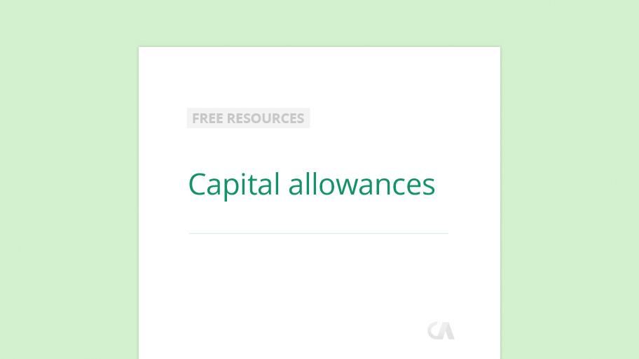 Capital-allowances