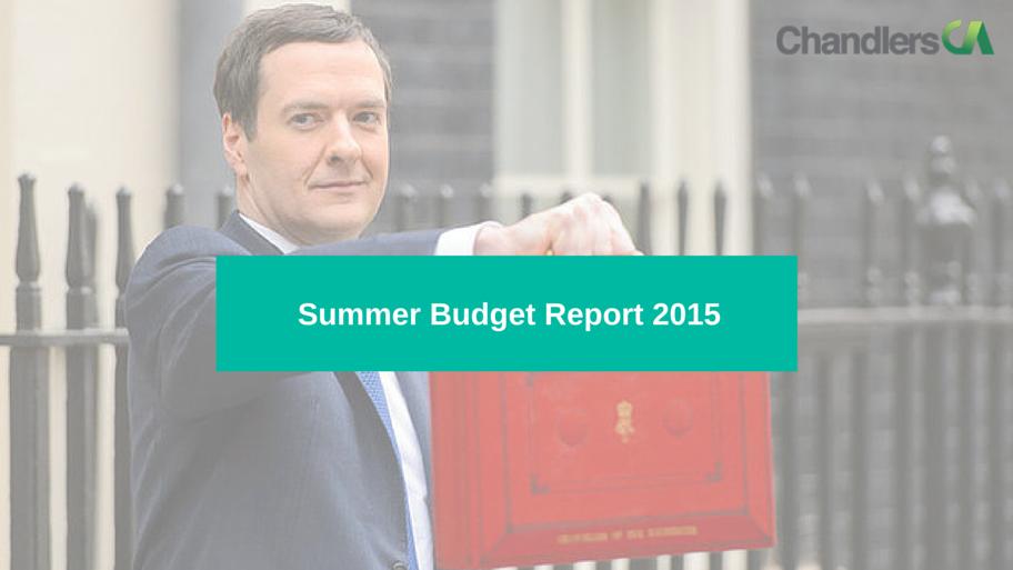2015 summer budget report
