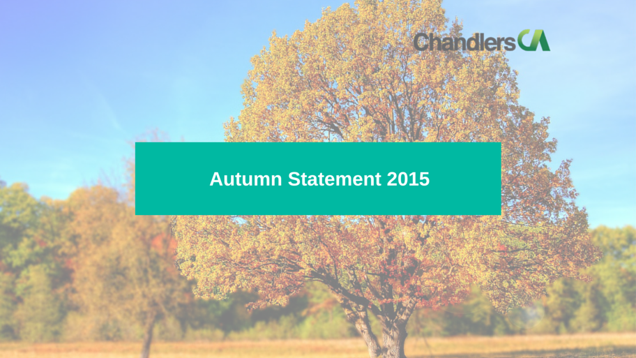 Report of the Autumn Statement 2015