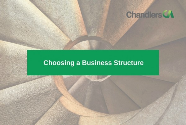 Guide to choosing a business structure