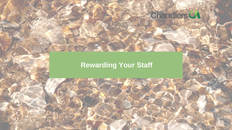 Guide to options on rewarding your staff and employees