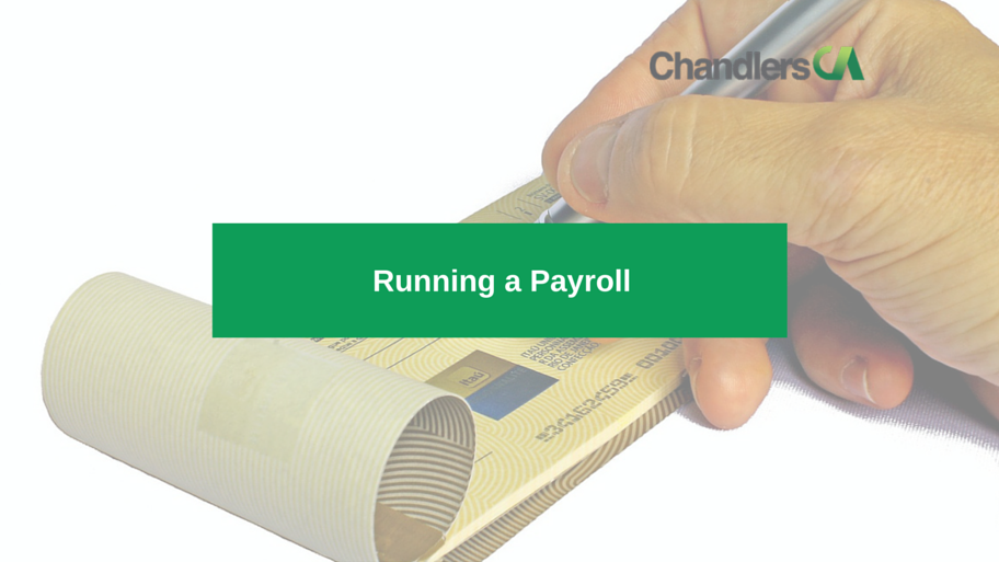 guide on running a payroll