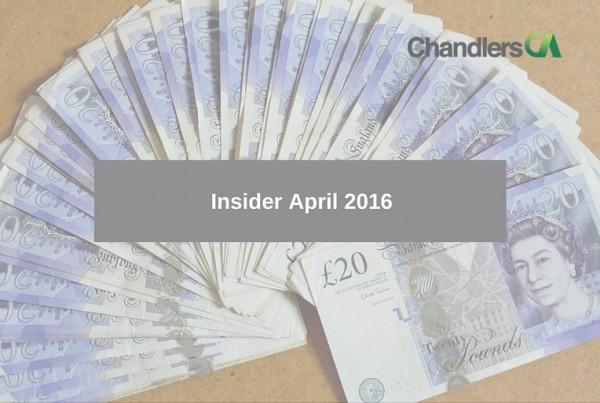 Insider April 2016