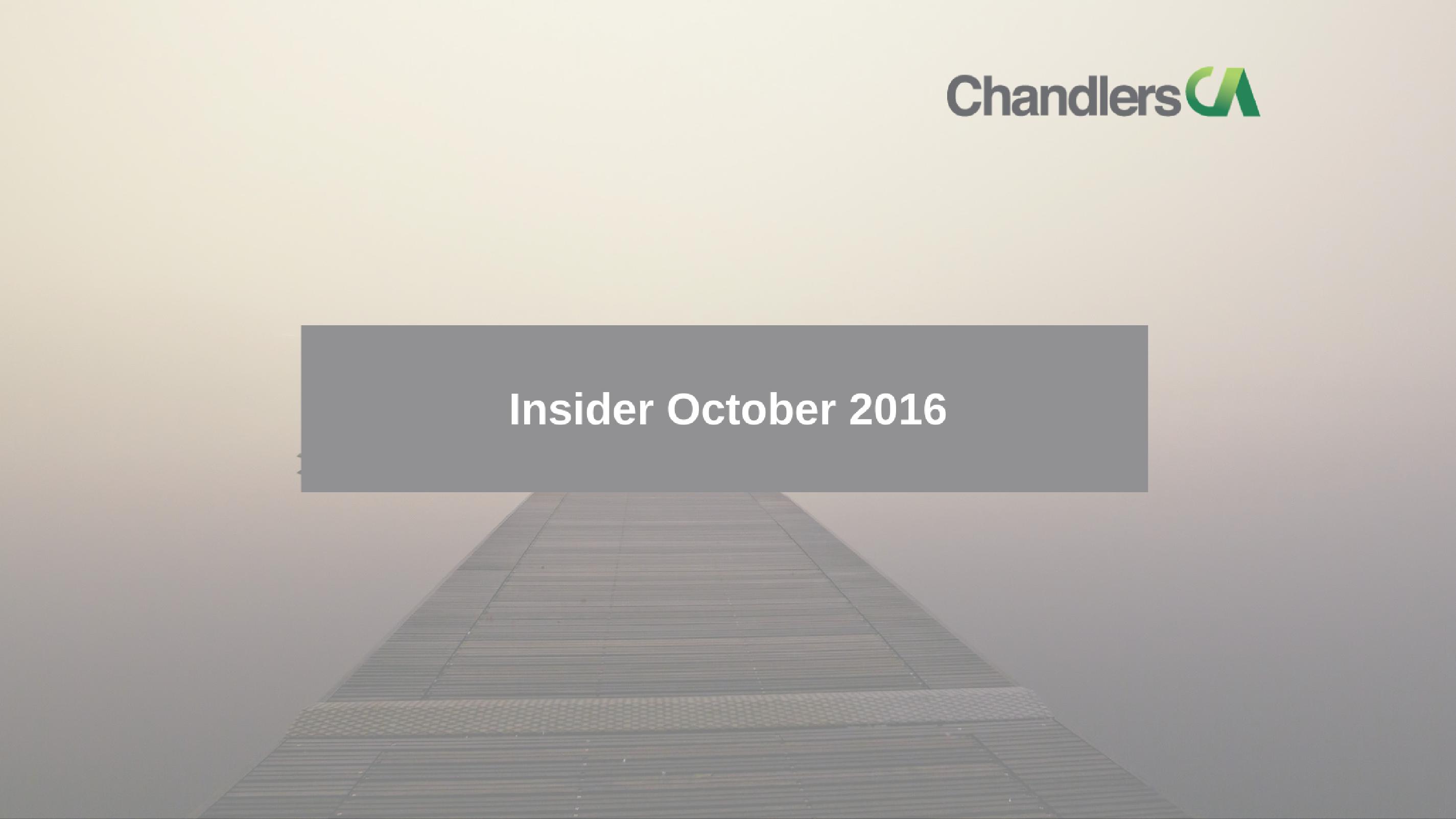 Tax Insider Guide October 2016