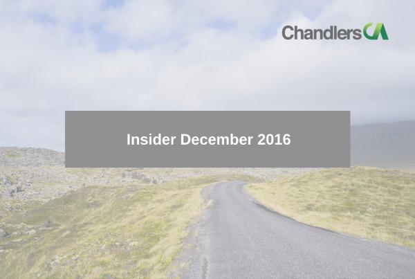 Tax insider guide for December 2016