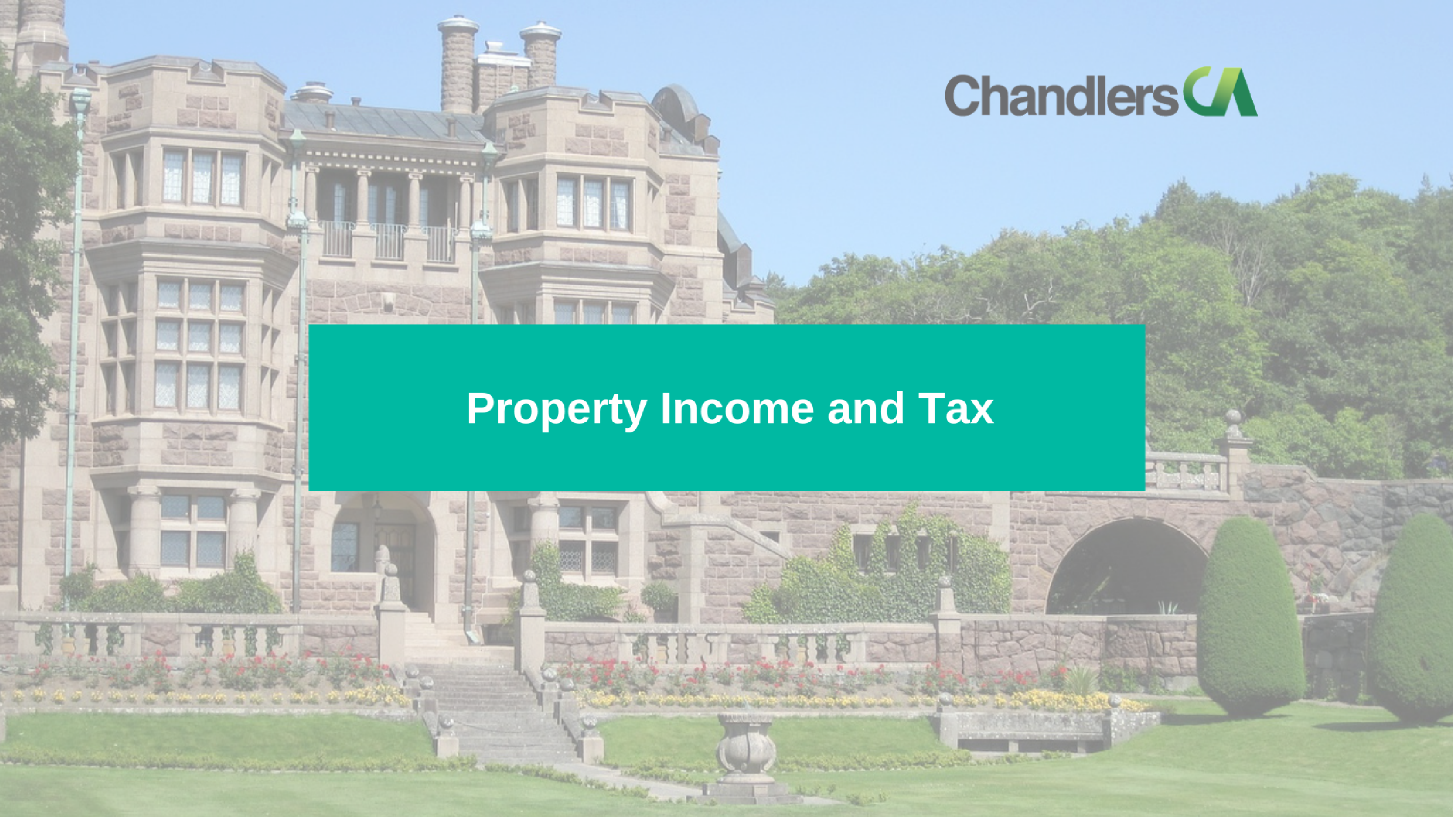 Guide to property income and tax