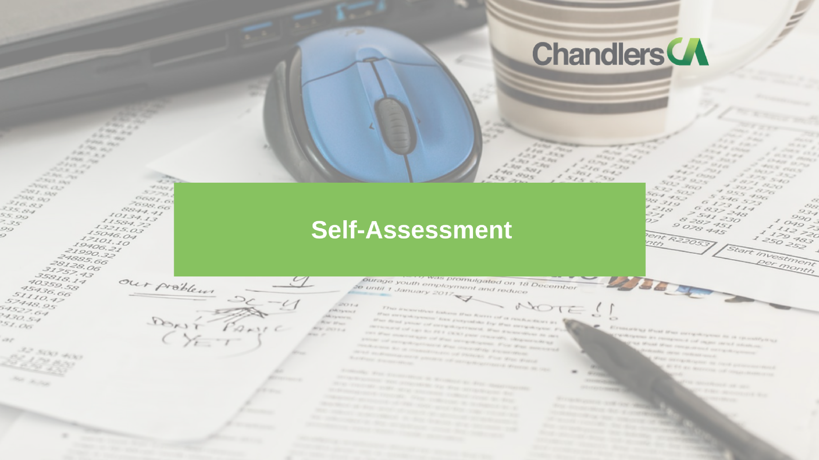 Guide to self-assessment tax returns