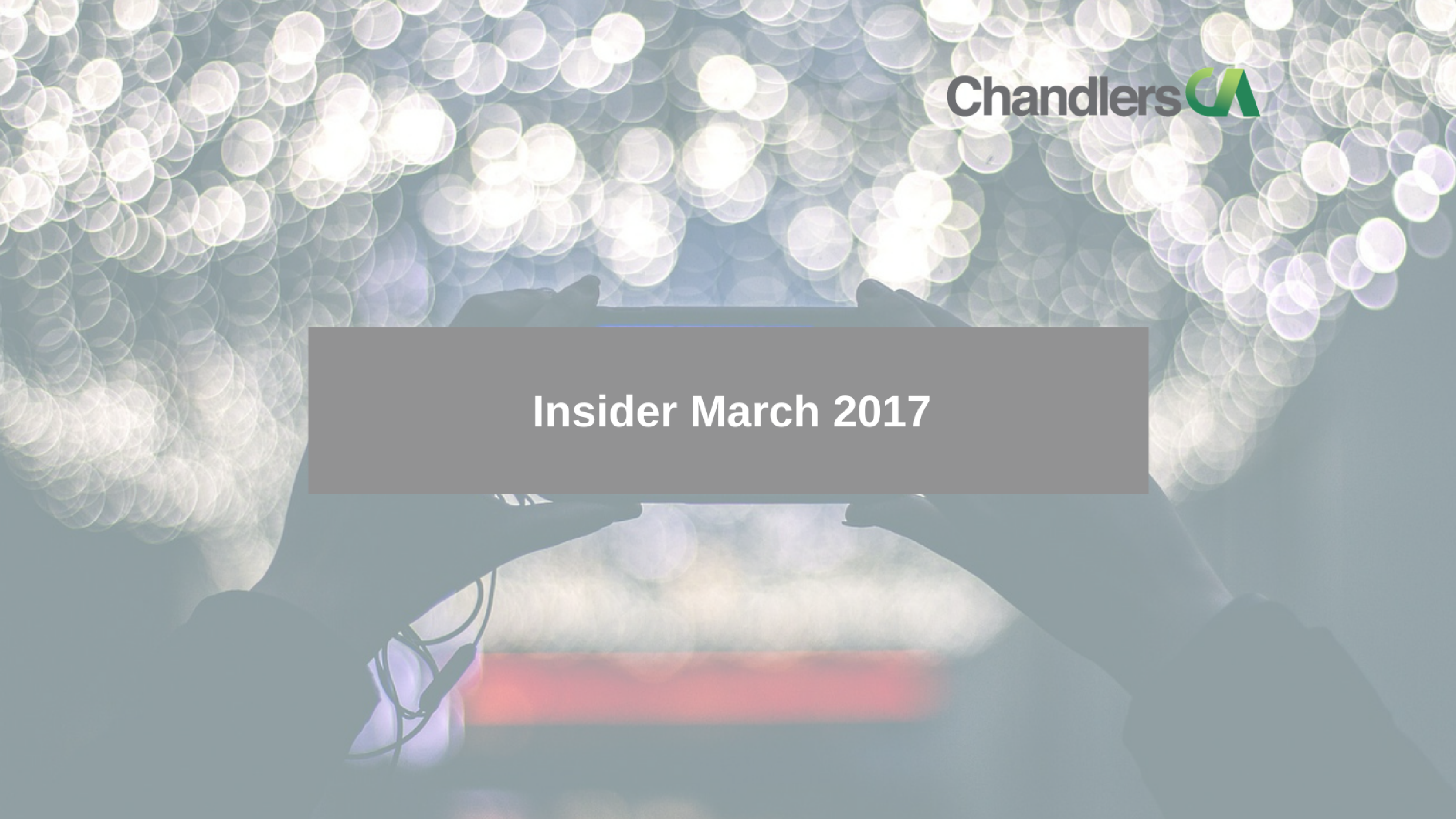 Tax insider report for March 2017