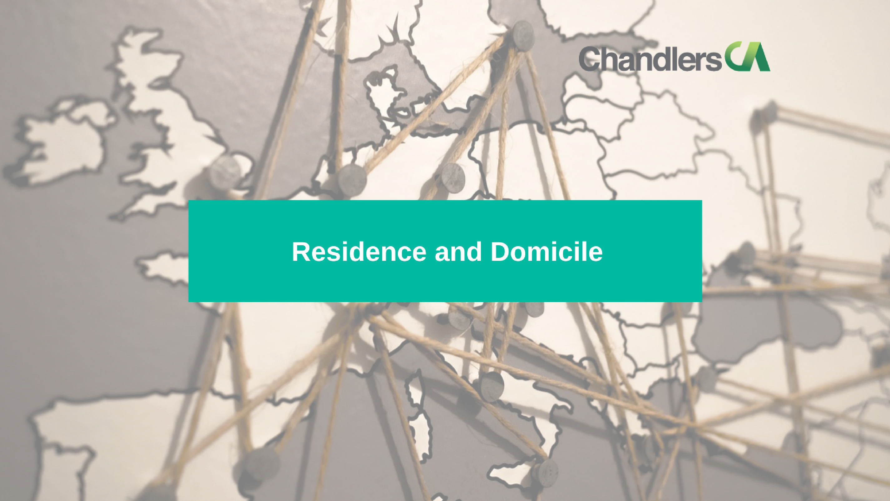 Guide to residence and domicile tax issues in the UK