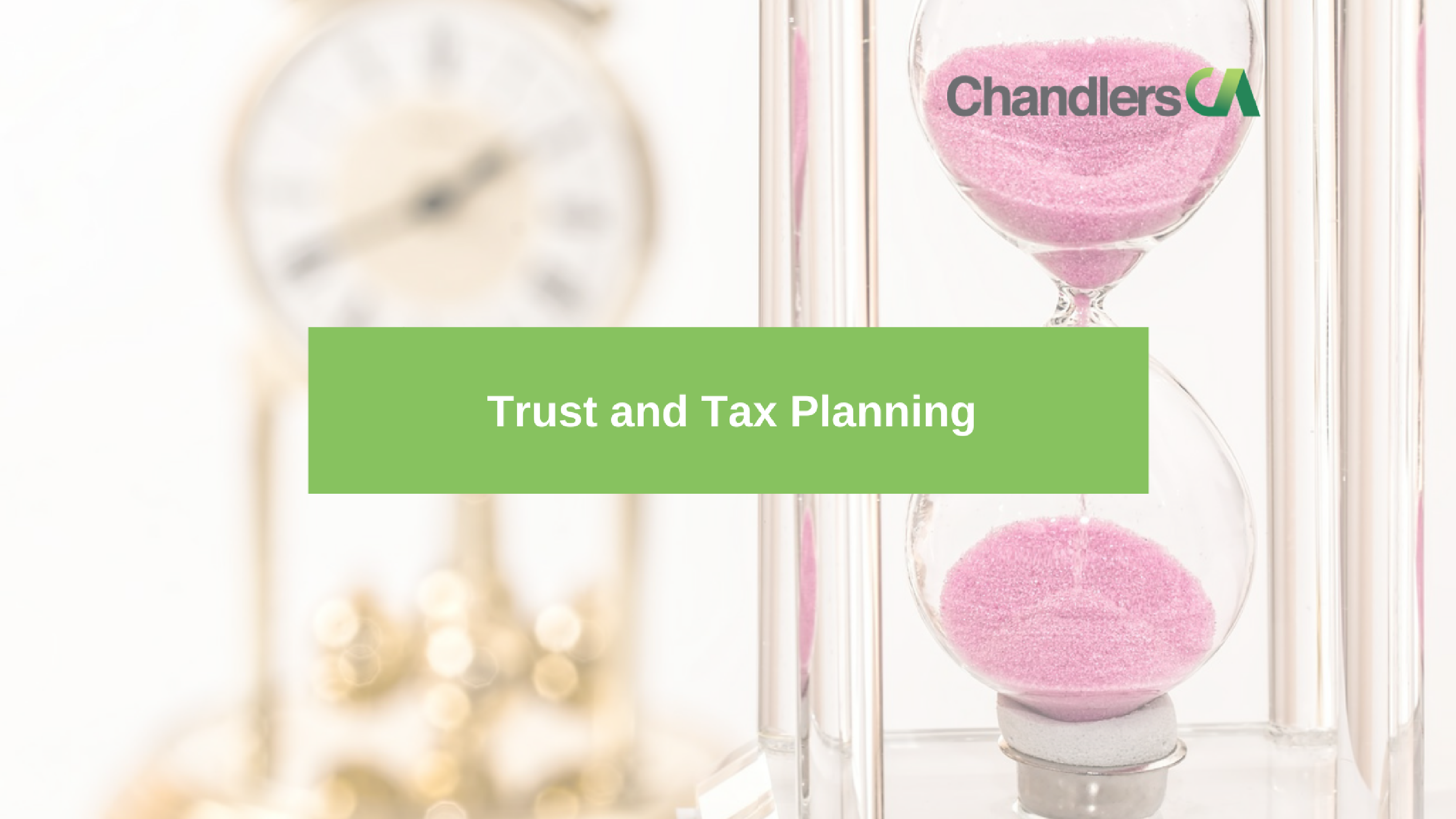 Guide to Trust and tax planning