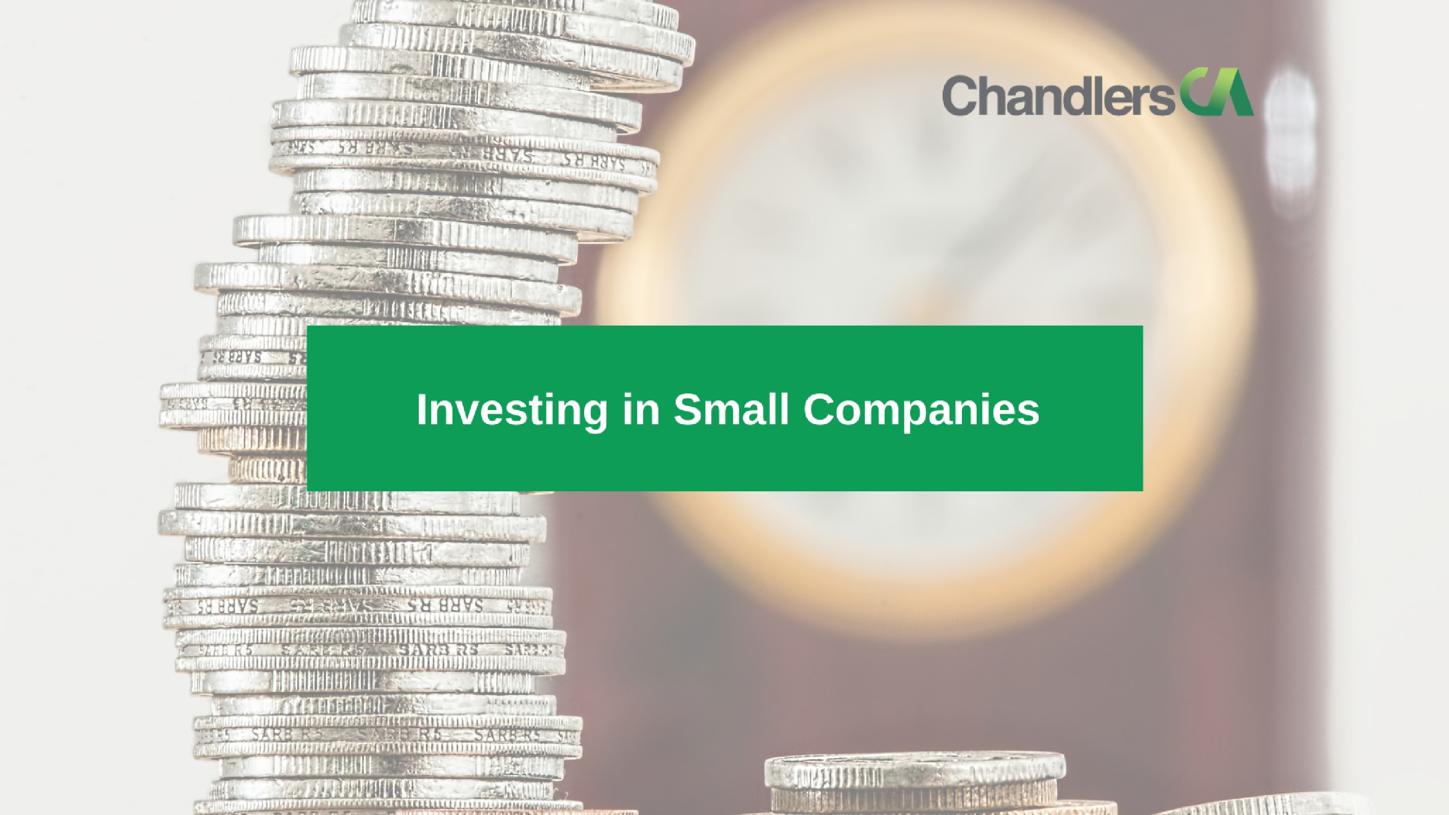 Guide to investing in small companies