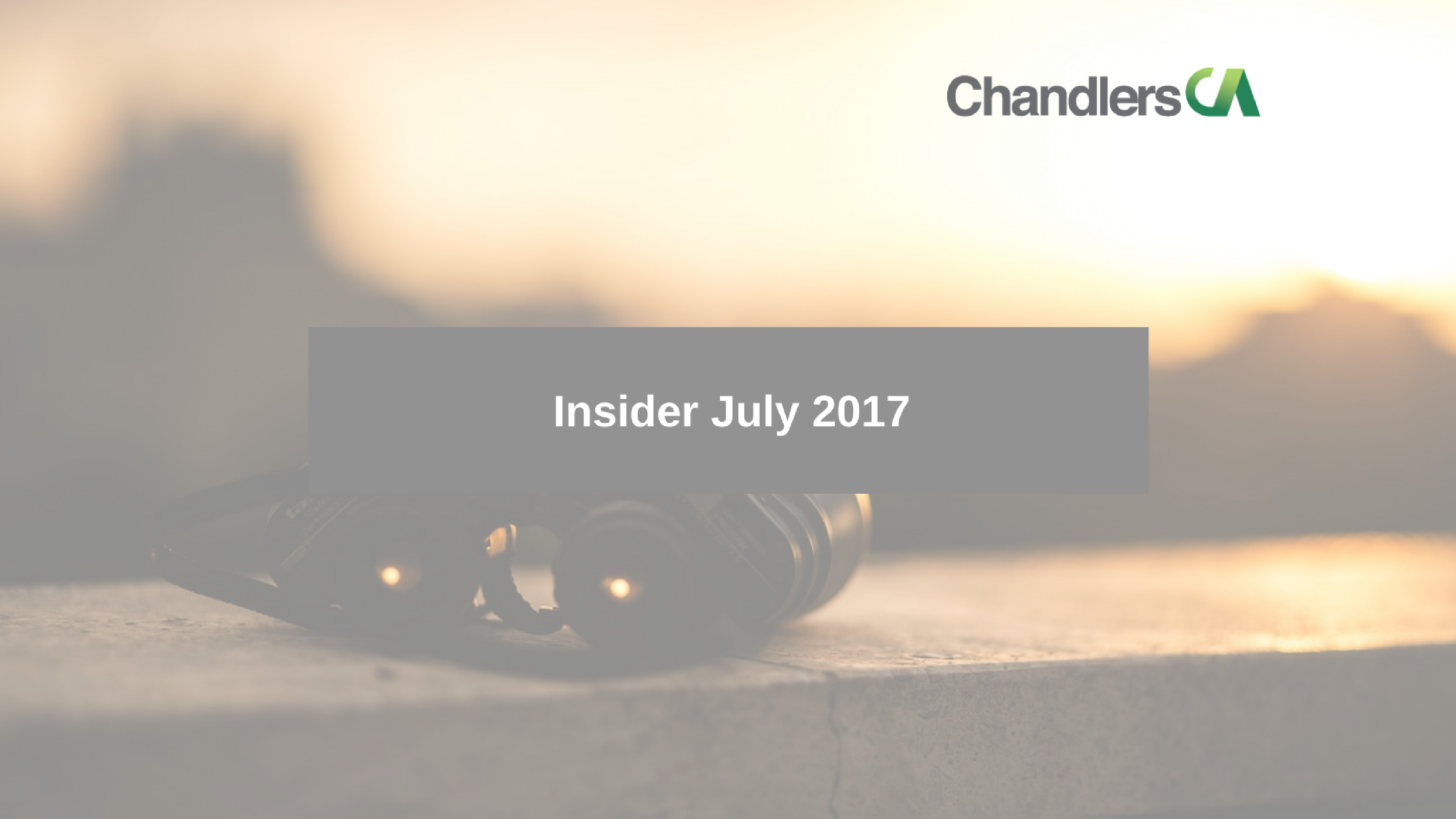 tax insider guide for july 2017