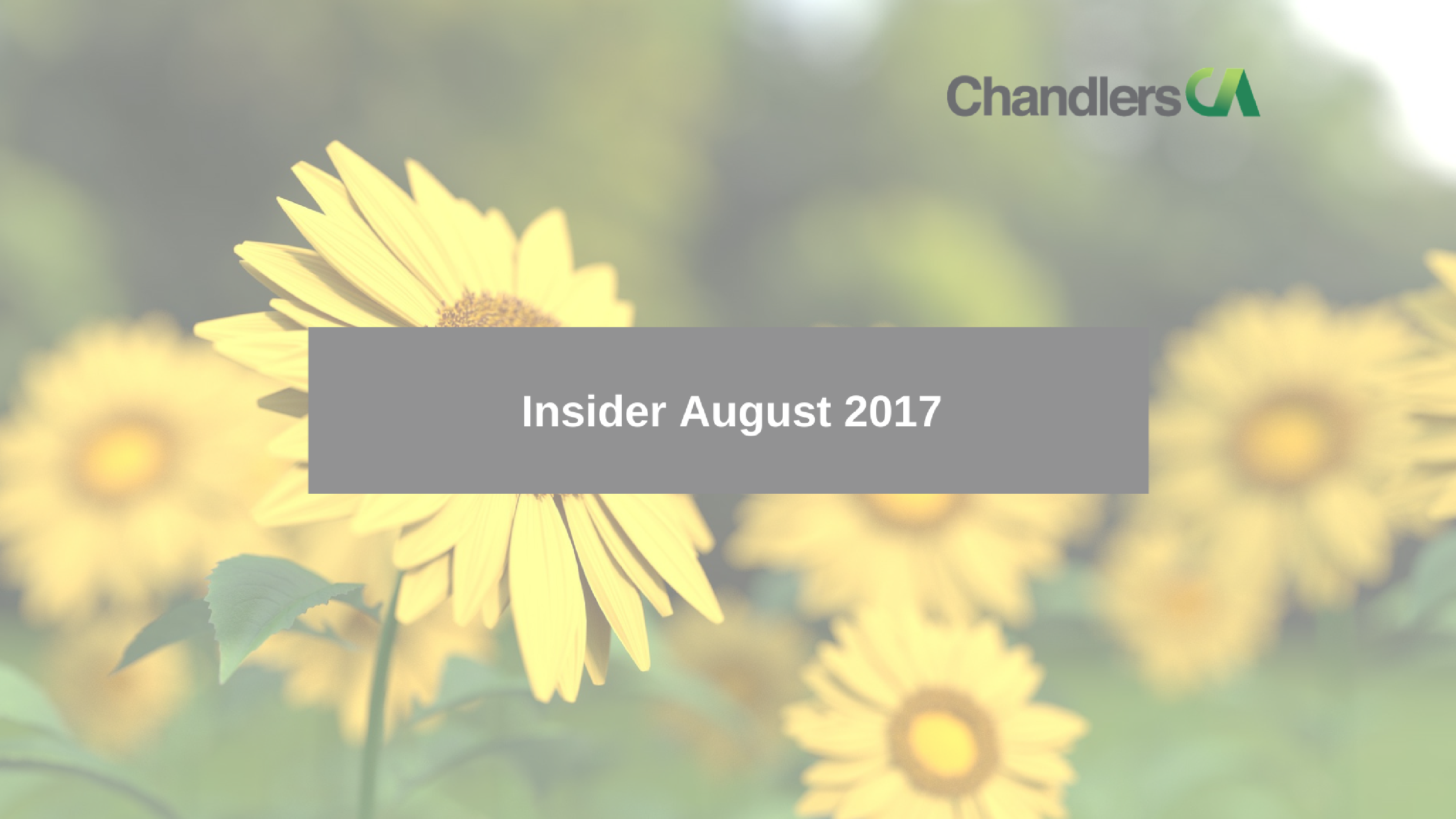 Tax Insider Guide August 2017