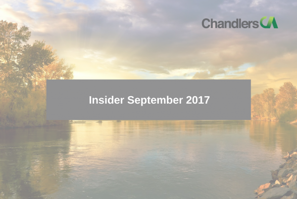 Tax Insider guide for September 2017