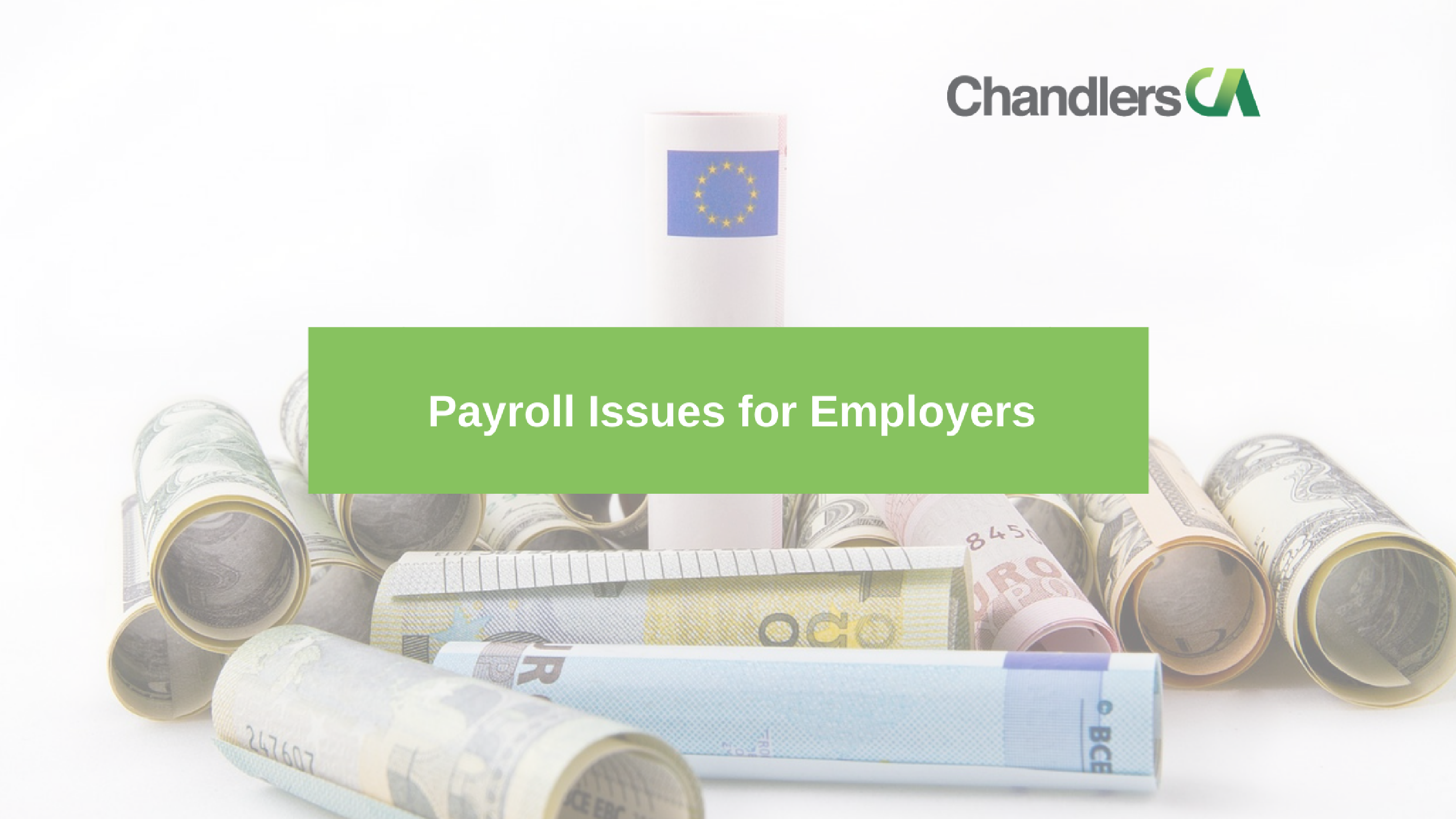 Guide to payroll issues for employers in the UK