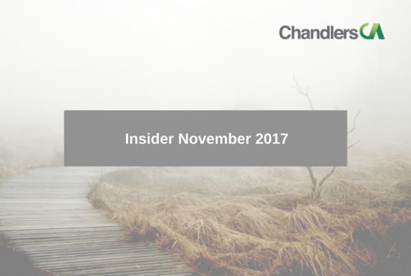 Tax Insider Guide for November 2017