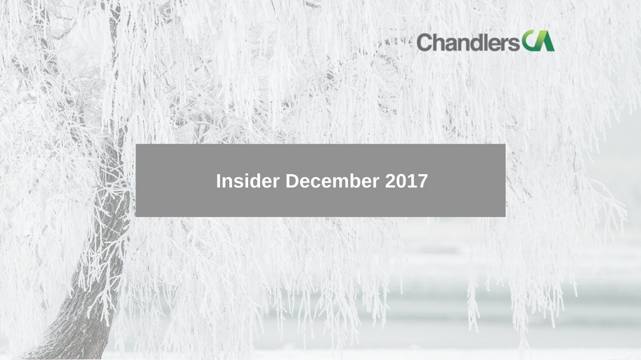 Tax Insider Guide for December 17