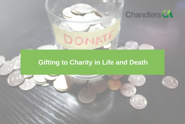 Gifting to charity