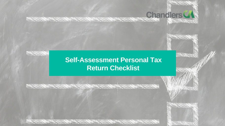 Self assessment tax return checklist