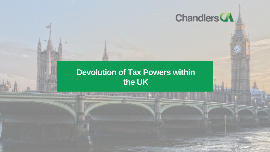 Guide on Devolution of tax powers within the UK