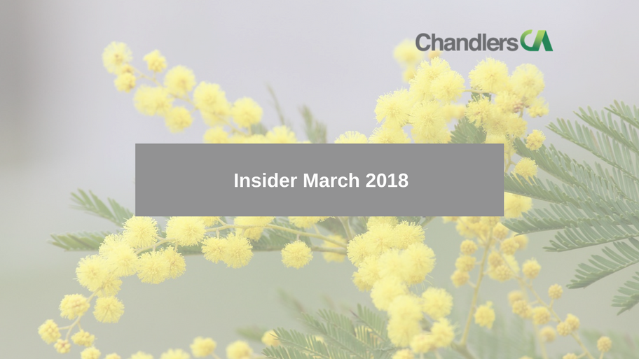 Tax Insider Guide March 2018