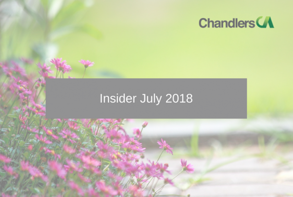 Tax Insider guide for July 2018