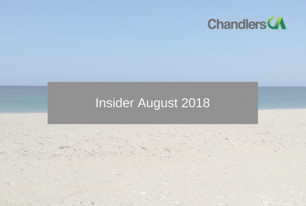 Tax Insider Guide for August 2018