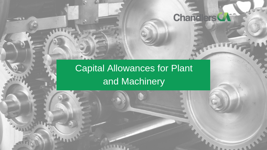 Guide to capital allowances for plant and machinery