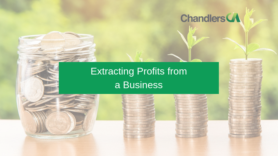 Extracting profits from a business