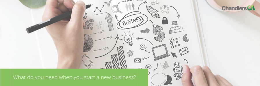 start a new business