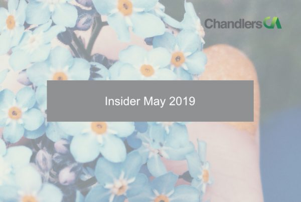 Insider: May 2019
