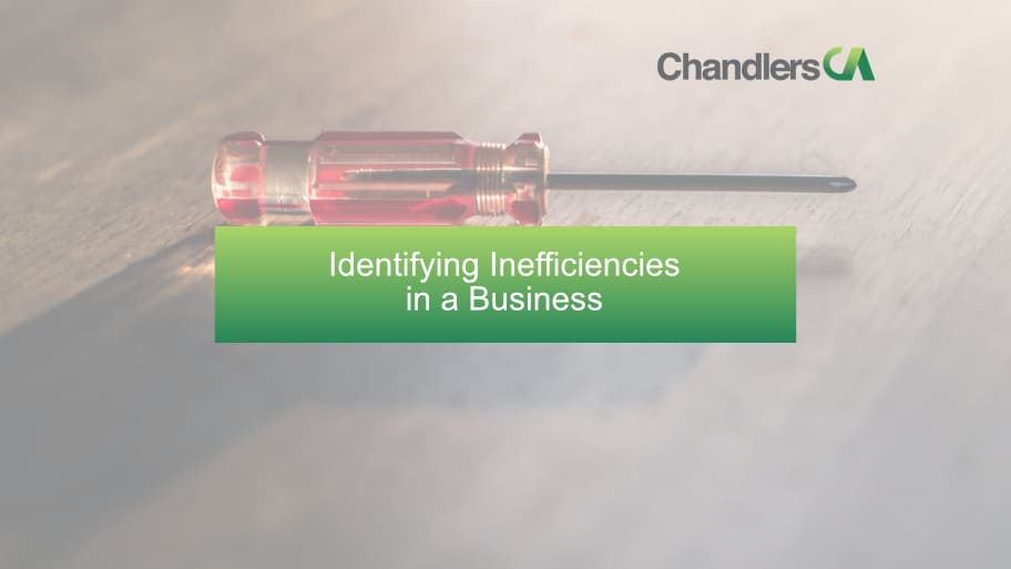 Identifying Inefficiencies in a Business
