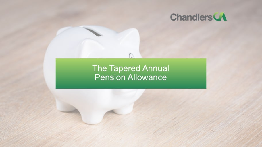 The Tapered Pension Allowance