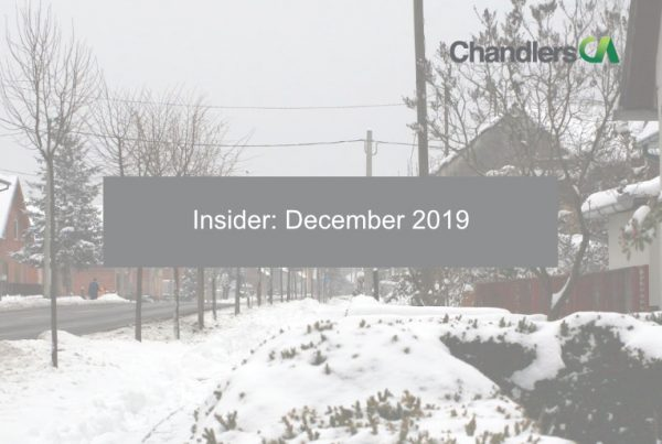 Chandlers CA Insider: December 2019