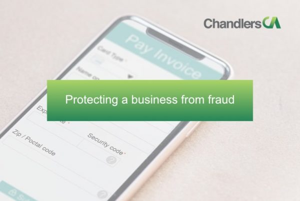 Protecting a business from fraud
