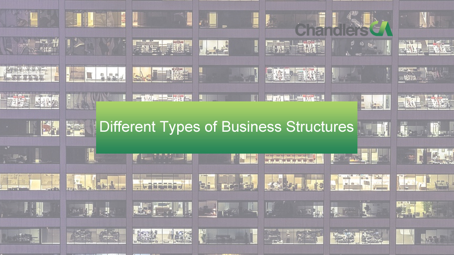 Different types of business structures