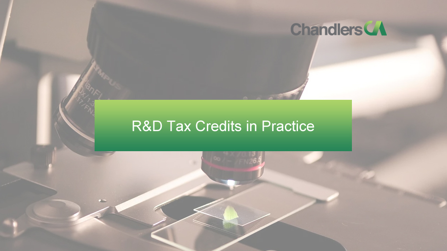 R&D Tax Credits in Practice