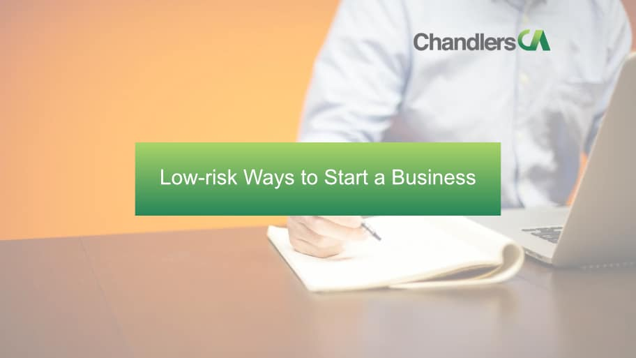 Low-risk ways to start a business
