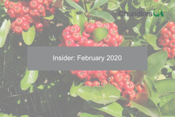 Insider: February 2020 - Chandlers CA