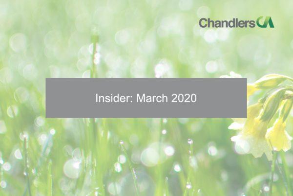 Insider: March 2020