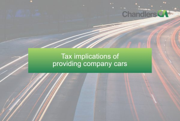 Tax implications of providing company cars