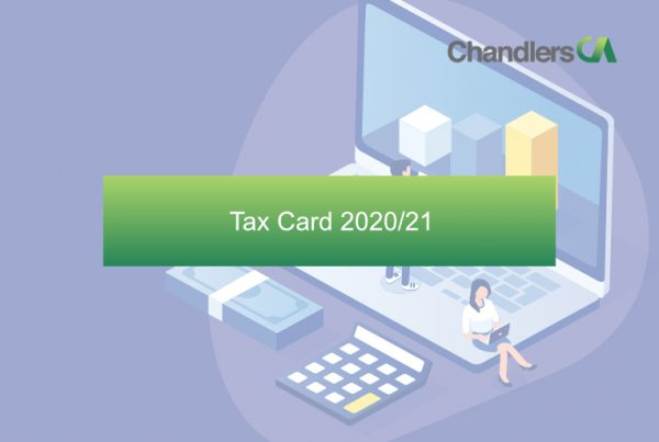 Chandlers CA Tax Cards 2020/ 21