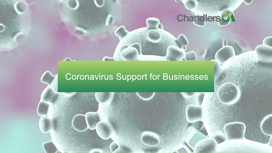 Coronavirus support for businesses