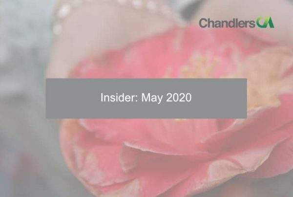 Insider: May 2020 - Chandlers CA
