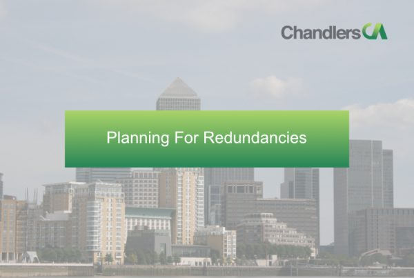 Planning for redundancies