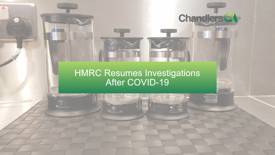 HMRC resumes investigations after COVID-19