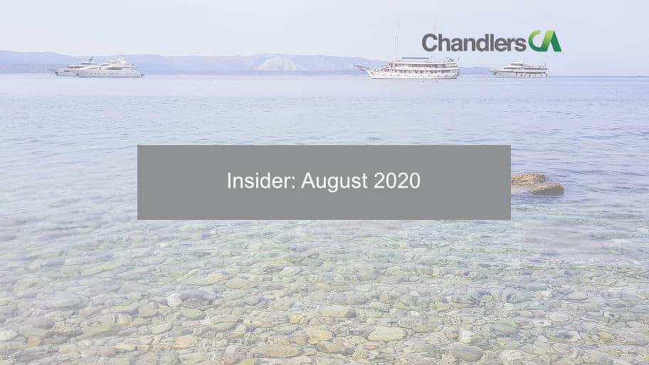 Insider: August 2020