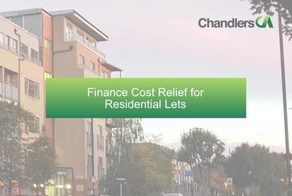 Finance cost relief for residential lets
