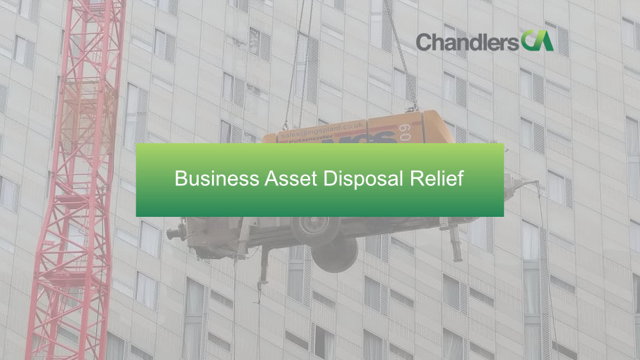 Chandlers CA - Business asset disposal relief