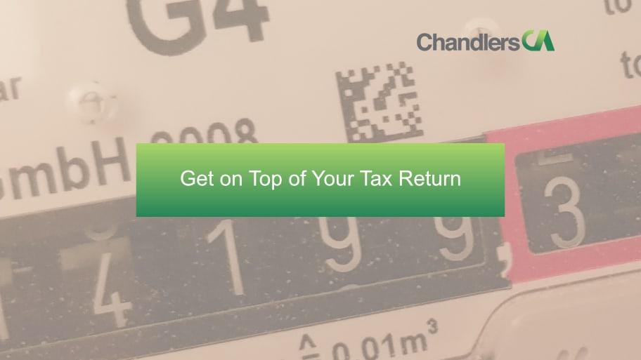 Get on top of your tax return